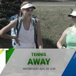 Tennis 8/28 vs Carroll