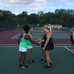 Girls Varsity Tennis defeats Sidney 3 – 2