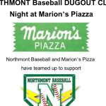 Baseball Fundraiser – Marion's Pizza