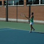 Girls Varsity Tennis falls to Fairmont 5 – 0