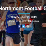 Northmont Football 5K Run