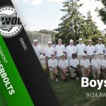 Boys Golf at GWOC