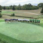 Boys Varsity Golf beats Fairmont and Wins NorthFairMontMont FireBolt Cup on Senior Night