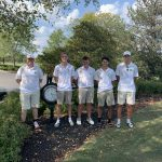 Boys Varsity Golf Advances to District Tournament After 4th Place Finish at Sectional Tournament
