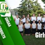 Girls Golf at Sectionals