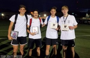 Northmont Boys Soccer at Miami Valley Scholastic Soccer Coaches Association End of Season All-Star Game Photo Gallery