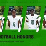 Four Thunderbolts Football Players Make SW Honors