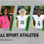 Fall Athletes State Honors