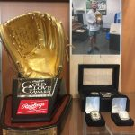 Zach Weatherford – Gold Glove on Display