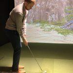 Indoor Boys Golf Simulator League Meadowbrook at Clayton