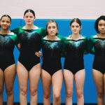 Girls Gymnastics Team Competes at CCD Invitational