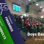 Boys BB at Fairmont