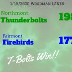 Northmont ⚡ Girls Varsity Bowling beats Fairmont 1987 – 1772