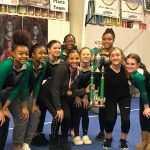 Gymnastics Team Places 3rd at Home Meet
