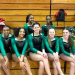 Gymnastics Team Takes 7th at Dayton City Champs