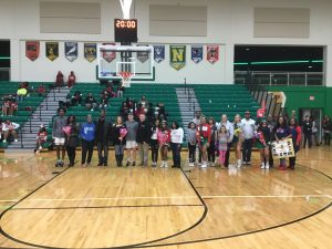 Boys BB Senior Night Photo Gallery
