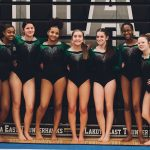 Girls Gymnastics Team Places 12th at Districts