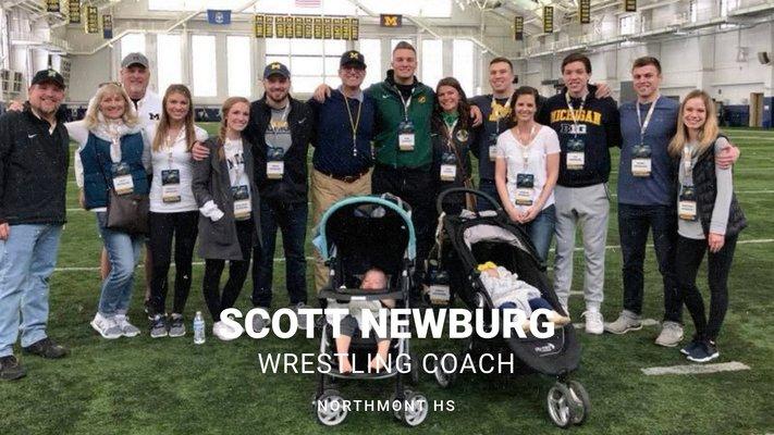 Up Close With Northmont Athletics – Scott Newburg