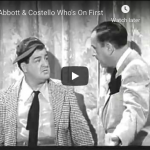 Abbott and Costello Who's On First