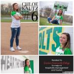 NHS Softball Senior Shoutouts: Chloe Kautz #6