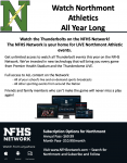 Northmont Athletics to Stream Home Sporting Events