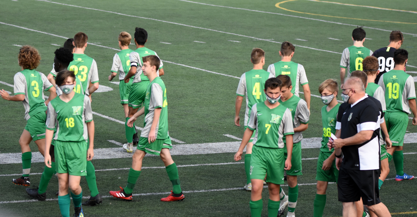 Boys JV-A Soccer v. Kettering Fairmont at Home 09/17/2020 Photo Gallery