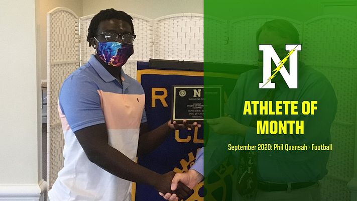 Rotary Athlete of the Month – Phil Quansah