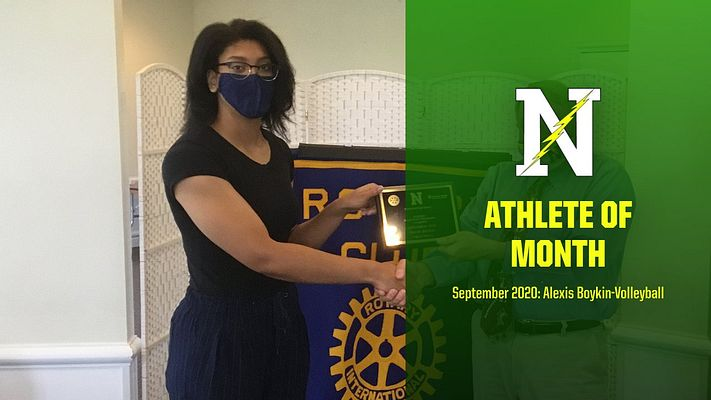Rotary Athlete of the Month – Alexis Boykin