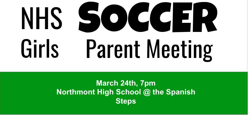 Girls Soccer Parents Meeting 2021