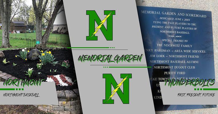 Northmont Baseball Memorial Garden - Past, Present, Future