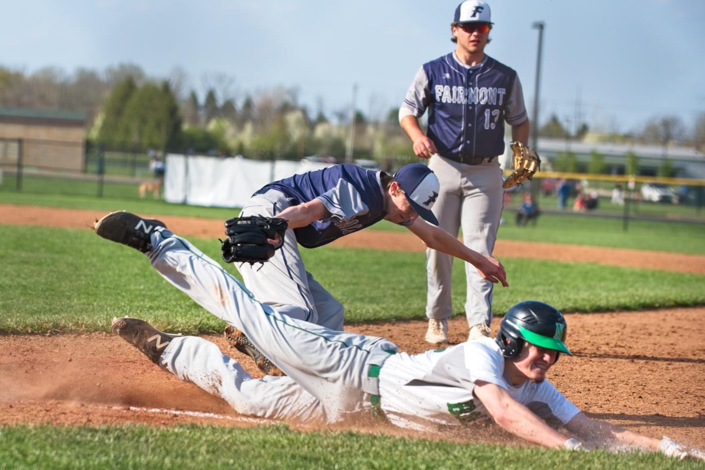 Varsity Baseball vs Kettering Fairmont (Home/Away) GALLERY