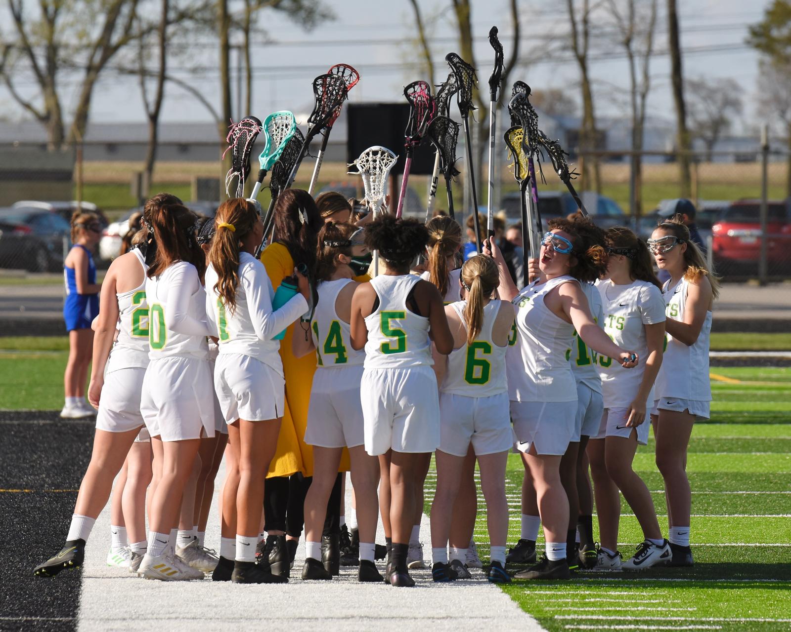 Varsity Girls Lacrosse Vs. Springboro 4/16/21