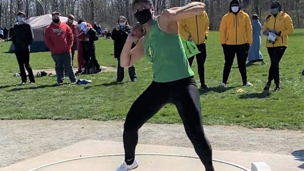 High School track and field: Northmont throwers also close friends