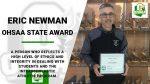 Eric Newman – OHSAA State Award
