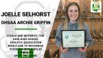 OHSAA Archie Griffin – Joelle Selhorst