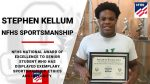 NFHS Sportsmanship Award – Stephen Kellum
