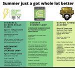 Lacrosse Summer Camp Information