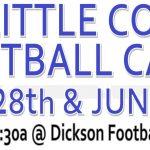 Football Staff to Host Kids Camp