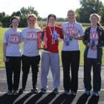 Rossville Girls Take First in County Meet