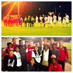 Carver Soccer Players Meet New Mexico Soccer Team at UAB Game