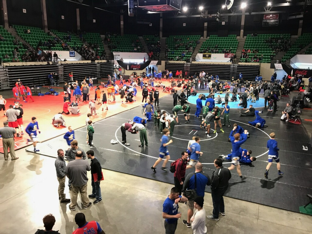 AHSAA Sectional Wrestling Tournament