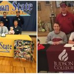 Two BA seniors sign athletic scholarships