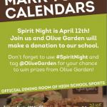 Olive Garden Spirit Night