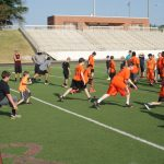 2015 Bear Football Camp Day 2