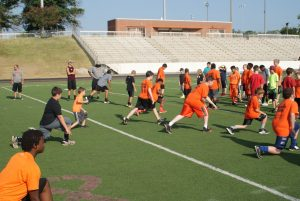2015 Bear Football Camp Day 2