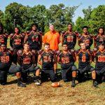 Gladewater High School Varsity Football beat Center High School 38-36