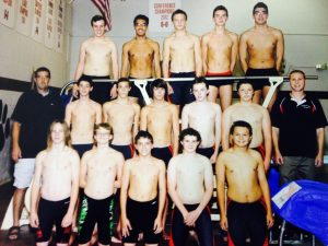 Varsity Boys Swimming