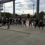 Fall Sports State Bound Athletes Get Send Off In Front of School