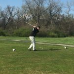Hazelwood West High School Boys Varsity Golf falls to Webster Groves High School 252-357