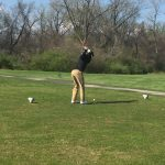 Hazelwood West High School Boys Varsity Golf falls to Ritenour High School 345-349